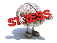 stress, afslanken